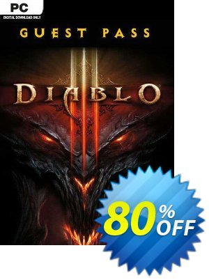 Diablo III 3 Guest Pass (PC) Coupon discount Diablo III 3 Guest Pass (PC) Deal - Diablo III 3 Guest Pass (PC) Exclusive offer for iVoicesoft