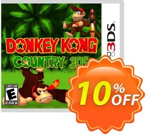 Donkey Kong Country 3DS - Game Code (ENG) discount coupon Donkey Kong Country 3DS - Game Code (ENG) Deal 2021 - Donkey Kong Country 3DS - Game Code (ENG) Exclusive Sale offer for iVoicesoft