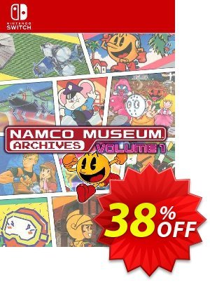 Namco Museum Archives Vol 1 Switch (EU) Coupon, discount Namco Museum Archives Vol 1 Switch (EU) Deal 2021 CDkeys. Promotion: Namco Museum Archives Vol 1 Switch (EU) Exclusive Sale offer for iVoicesoft