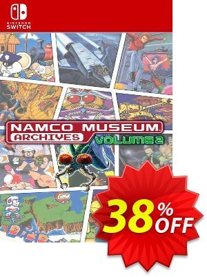 Namco Museum Archives Vol 2 Switch (EU) discount coupon Namco Museum Archives Vol 2 Switch (EU) Deal 2021 CDkeys - Namco Museum Archives Vol 2 Switch (EU) Exclusive Sale offer for iVoicesoft