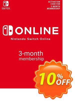 Nintendo Switch Online 3 Month (90 Day) Membership Switch (AUS/NZ) discount coupon Nintendo Switch Online 3 Month (90 Day) Membership Switch (AUS/NZ) Deal 2021 CDkeys - Nintendo Switch Online 3 Month (90 Day) Membership Switch (AUS/NZ) Exclusive Sale offer for iVoicesoft