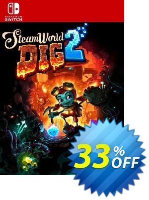 Steamworld Dig 2 Switch (EU) discount coupon Steamworld Dig 2 Switch (EU) Deal 2021 CDkeys - Steamworld Dig 2 Switch (EU) Exclusive Sale offer for iVoicesoft