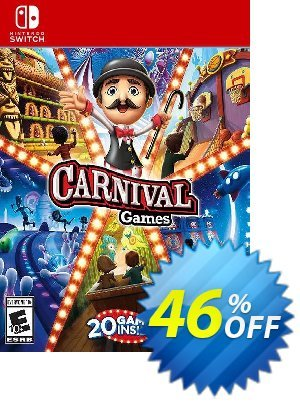 Carnival Games Switch (EU) discount coupon Carnival Games Switch (EU) Deal 2021 CDkeys - Carnival Games Switch (EU) Exclusive Sale offer for iVoicesoft