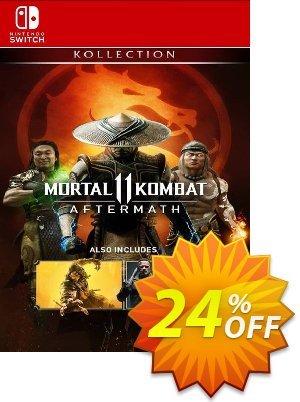 Mortal KOMBAT 11: Aftermath Kollection Switch (US) discount coupon Mortal KOMBAT 11: Aftermath Kollection Switch (US) Deal 2021 CDkeys - Mortal KOMBAT 11: Aftermath Kollection Switch (US) Exclusive Sale offer for iVoicesoft