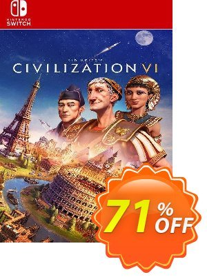 Sid Meier's Civilization VI  Switch (EU) discount coupon Sid Meier's Civilization VI  Switch (EU) Deal 2021 CDkeys - Sid Meier's Civilization VI  Switch (EU) Exclusive Sale offer for iVoicesoft