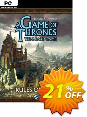 A Game of Thrones: The Board Game - Digital Edition PC discount coupon A Game of Thrones: The Board Game - Digital Edition PC Deal 2021 CDkeys - A Game of Thrones: The Board Game - Digital Edition PC Exclusive Sale offer for iVoicesoft