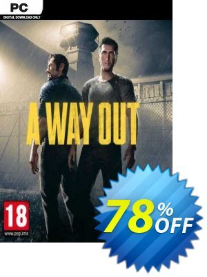 A Way Out PC (EN) discount coupon A Way Out PC (EN) Deal 2021 CDkeys - A Way Out PC (EN) Exclusive Sale offer for iVoicesoft