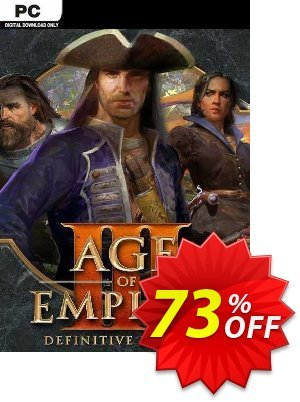 Age of Empires III: Definitive Edition PC discount coupon Age of Empires III: Definitive Edition PC Deal 2021 CDkeys - Age of Empires III: Definitive Edition PC Exclusive Sale offer for iVoicesoft