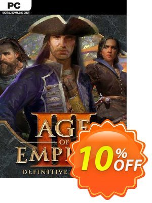 Age of Empires III: Definitive Edition Windows 10 PC (UK) discount coupon Age of Empires III: Definitive Edition Windows 10 PC (UK) Deal 2021 CDkeys - Age of Empires III: Definitive Edition Windows 10 PC (UK) Exclusive Sale offer for iVoicesoft