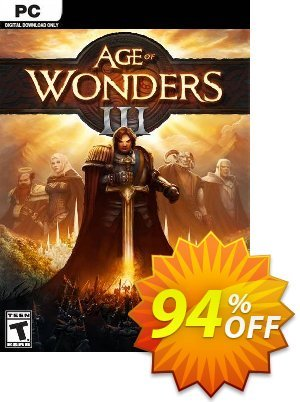 Age of Wonders III PC (EU) discount coupon Age of Wonders III PC (EU) Deal 2021 CDkeys - Age of Wonders III PC (EU) Exclusive Sale offer for iVoicesoft
