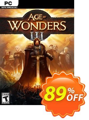 Age of Wonders III PC discount coupon Age of Wonders III PC Deal 2021 CDkeys - Age of Wonders III PC Exclusive Sale offer for iVoicesoft