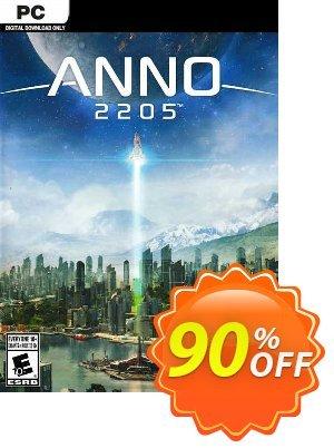 Anno 2205 PC (EU) discount coupon Anno 2205 PC (EU) Deal 2021 CDkeys - Anno 2205 PC (EU) Exclusive Sale offer for iVoicesoft