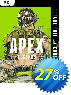 Apex Legends - Octane Edition PC discount coupon Apex Legends - Octane Edition PC Deal 2021 CDkeys - Apex Legends - Octane Edition PC Exclusive Sale offer for iVoicesoft