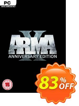 ARMA X: Anniversary Edition PC discount coupon ARMA X: Anniversary Edition PC Deal 2021 CDkeys - ARMA X: Anniversary Edition PC Exclusive Sale offer for iVoicesoft