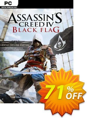 Assassin's Creed IV Black Flag - Deluxe Edition PC (EU) discount coupon Assassin's Creed IV Black Flag - Deluxe Edition PC (EU) Deal 2021 CDkeys - Assassin's Creed IV Black Flag - Deluxe Edition PC (EU) Exclusive Sale offer for iVoicesoft