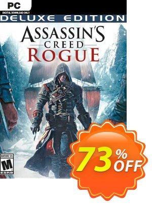 Assassins Creed Rogue Deluxe Edition PC discount coupon Assassins Creed Rogue Deluxe Edition PC Deal 2021 CDkeys - Assassins Creed Rogue Deluxe Edition PC Exclusive Sale offer for iVoicesoft