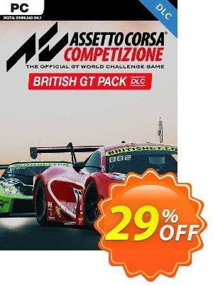 Assetto Corsa Competizione - British GT Pack PC - DLC discount coupon Assetto Corsa Competizione - British GT Pack PC - DLC Deal 2021 CDkeys - Assetto Corsa Competizione - British GT Pack PC - DLC Exclusive Sale offer for iVoicesoft