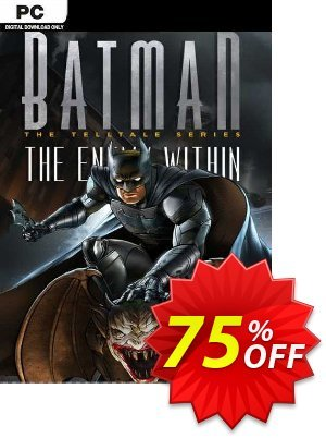 Batman: The Enemy Within - The Telltale Series PC discount coupon Batman: The Enemy Within - The Telltale Series PC Deal 2021 CDkeys - Batman: The Enemy Within - The Telltale Series PC Exclusive Sale offer for iVoicesoft