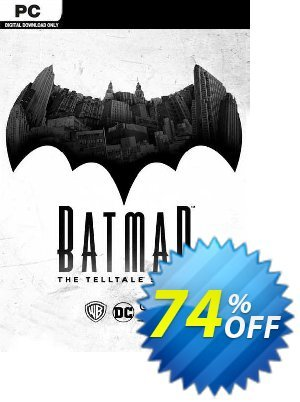 Batman - The Telltale Series PC discount coupon Batman - The Telltale Series PC Deal 2021 CDkeys - Batman - The Telltale Series PC Exclusive Sale offer for iVoicesoft