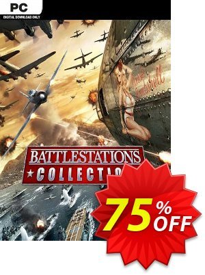 Battlestations Collection PC 優惠券,折扣碼 Battlestations Collection PC Deal 2021 CDkeys,促銷代碼: Battlestations Collection PC Exclusive Sale offer for iVoicesoft