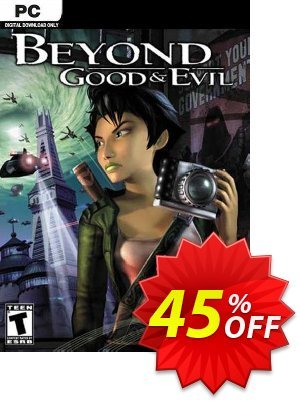 Beyond Good and Evil PC discount coupon Beyond Good and Evil PC Deal 2021 CDkeys - Beyond Good and Evil PC Exclusive Sale offer for iVoicesoft