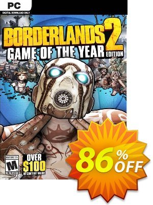 Borderlands 2 Game of the Year PC (WW) discount coupon Borderlands 2 Game of the Year PC (WW) Deal 2021 CDkeys - Borderlands 2 Game of the Year PC (WW) Exclusive Sale offer for iVoicesoft