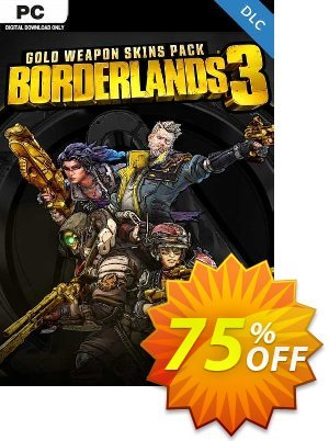 Borderlands 3: Gold Weapon Skins Pack PC -  DLC discount coupon Borderlands 3: Gold Weapon Skins Pack PC -  DLC Deal 2021 CDkeys - Borderlands 3: Gold Weapon Skins Pack PC -  DLC Exclusive Sale offer for iVoicesoft