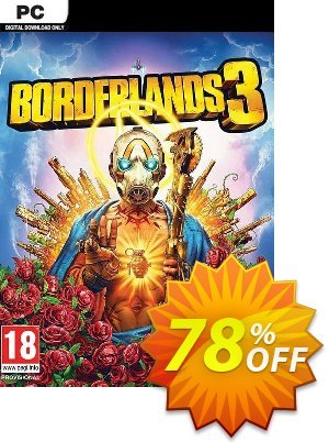 Borderlands 3 (Steam) (WW) discount coupon Borderlands 3 (Steam) (WW) Deal 2021 CDkeys - Borderlands 3 (Steam) (WW) Exclusive Sale offer for iVoicesoft