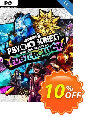 Borderlands 3: Psycho Krieg and the Fantastic Fustercluck PC - DLC (EPIC Games WW) discount coupon Borderlands 3: Psycho Krieg and the Fantastic Fustercluck PC - DLC (EPIC Games WW) Deal 2021 CDkeys - Borderlands 3: Psycho Krieg and the Fantastic Fustercluck PC - DLC (EPIC Games WW) Exclusive Sale offer for iVoicesoft