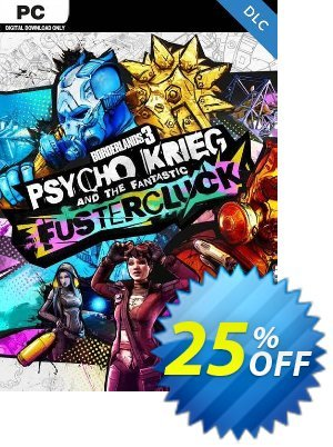 Borderlands 3: Psycho Krieg and the Fantastic Fustercluck PC - DLC (Steam) discount coupon Borderlands 3: Psycho Krieg and the Fantastic Fustercluck PC - DLC (Steam) Deal 2021 CDkeys - Borderlands 3: Psycho Krieg and the Fantastic Fustercluck PC - DLC (Steam) Exclusive Sale offer for iVoicesoft