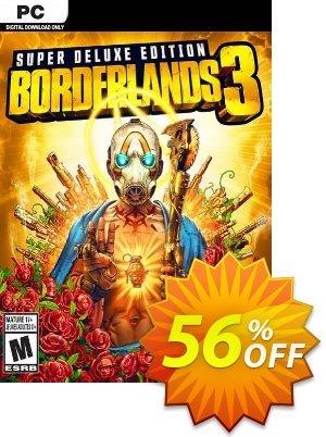Borderlands 3 Super Deluxe Edition PC  (US/AUS/JP) discount coupon Borderlands 3 Super Deluxe Edition PC  (US/AUS/JP) Deal 2021 CDkeys - Borderlands 3 Super Deluxe Edition PC  (US/AUS/JP) Exclusive Sale offer for iVoicesoft