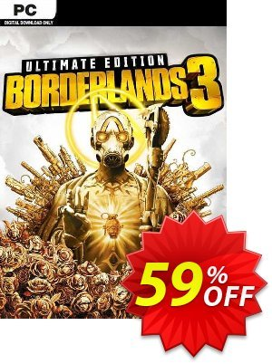 Borderlands 3 Ultimate Edition PC (Steam) (WW) discount coupon Borderlands 3 Ultimate Edition PC (Steam) (WW) Deal 2021 CDkeys - Borderlands 3 Ultimate Edition PC (Steam) (WW) Exclusive Sale offer for iVoicesoft