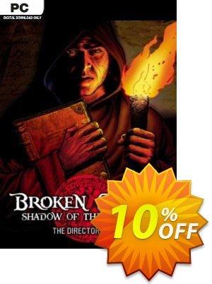 Broken Sword Director's Cut PC discount coupon Broken Sword Director's Cut PC Deal 2021 CDkeys - Broken Sword Director's Cut PC Exclusive Sale offer for iVoicesoft