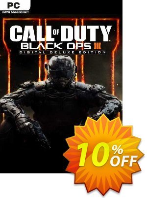 Call of Duty Black Ops III - Deluxe Edition PC discount coupon Call of Duty Black Ops III - Deluxe Edition PC Deal 2021 CDkeys - Call of Duty Black Ops III - Deluxe Edition PC Exclusive Sale offer for iVoicesoft