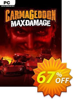 Carmageddon: Max Damage PC discount coupon Carmageddon: Max Damage PC Deal 2021 CDkeys - Carmageddon: Max Damage PC Exclusive Sale offer for iVoicesoft