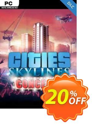 Cities Skylines - Concerts DLC discount coupon Cities Skylines - Concerts DLC Deal 2021 CDkeys - Cities Skylines - Concerts DLC Exclusive Sale offer for iVoicesoft