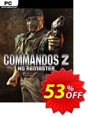 Commandos 2 - HD Remaster PC (EU) discount coupon Commandos 2 - HD Remaster PC (EU) Deal 2021 CDkeys - Commandos 2 - HD Remaster PC (EU) Exclusive Sale offer for iVoicesoft