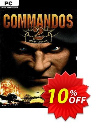Commandos 2 Men of Courage PC discount coupon Commandos 2 Men of Courage PC Deal 2021 CDkeys - Commandos 2 Men of Courage PC Exclusive Sale offer for iVoicesoft