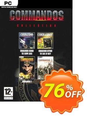 Commandos: Collection PC discount coupon Commandos: Collection PC Deal 2021 CDkeys - Commandos: Collection PC Exclusive Sale offer for iVoicesoft