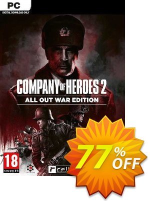 Company of Heroes 2: All Out War Edition PC discount coupon Company of Heroes 2: All Out War Edition PC Deal 2021 CDkeys - Company of Heroes 2: All Out War Edition PC Exclusive Sale offer for iVoicesoft