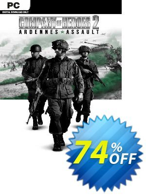 Company of Heroes 2 + Ardennes Assault PC (EU) discount coupon Company of Heroes 2 + Ardennes Assault PC (EU) Deal 2021 CDkeys - Company of Heroes 2 + Ardennes Assault PC (EU) Exclusive Sale offer for iVoicesoft