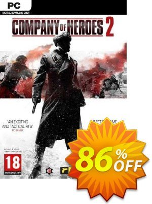 Company of Heroes 2 PC (EU) discount coupon Company of Heroes 2 PC (EU) Deal 2021 CDkeys - Company of Heroes 2 PC (EU) Exclusive Sale offer for iVoicesoft
