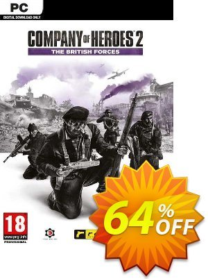 Company of Heroes 2 - The British Forces PC (EU) discount coupon Company of Heroes 2 - The British Forces PC (EU) Deal 2021 CDkeys - Company of Heroes 2 - The British Forces PC (EU) Exclusive Sale offer for iVoicesoft