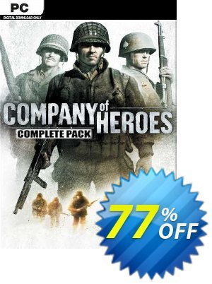 Company of Heroes Complete Pack PC (EU) discount coupon Company of Heroes Complete Pack PC (EU) Deal 2021 CDkeys - Company of Heroes Complete Pack PC (EU) Exclusive Sale offer for iVoicesoft
