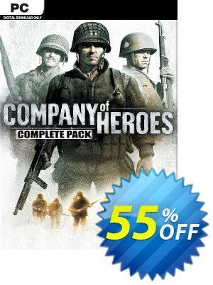Company of Heroes Complete Pack PC discount coupon Company of Heroes Complete Pack PC Deal 2021 CDkeys - Company of Heroes Complete Pack PC Exclusive Sale offer for iVoicesoft