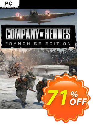 Company of Heroes Franchise Edition PC discount coupon Company of Heroes Franchise Edition PC Deal 2021 CDkeys - Company of Heroes Franchise Edition PC Exclusive Sale offer for iVoicesoft