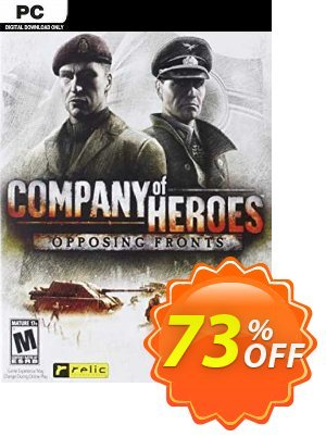Company of Heroes - Opposing Fronts PC (EN) discount coupon Company of Heroes - Opposing Fronts PC (EN) Deal 2021 CDkeys - Company of Heroes - Opposing Fronts PC (EN) Exclusive Sale offer for iVoicesoft