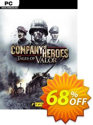 Company of Heroes -Tales of Valor PC (EU) discount coupon Company of Heroes -Tales of Valor PC (EU) Deal 2021 CDkeys - Company of Heroes -Tales of Valor PC (EU) Exclusive Sale offer for iVoicesoft