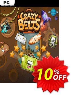 Crazy Belts PC discount coupon Crazy Belts PC Deal 2021 CDkeys - Crazy Belts PC Exclusive Sale offer for iVoicesoft