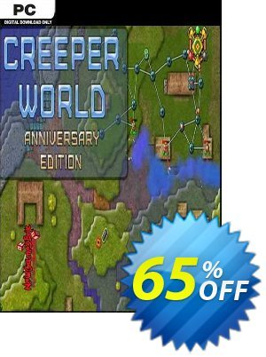Creeper World: Anniversary Edition PC (EN) discount coupon Creeper World: Anniversary Edition PC (EN) Deal 2021 CDkeys - Creeper World: Anniversary Edition PC (EN) Exclusive Sale offer for iVoicesoft